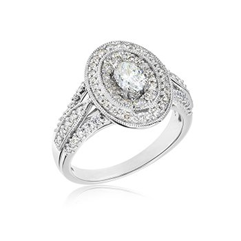 Oh, What a Joy Oval Ring