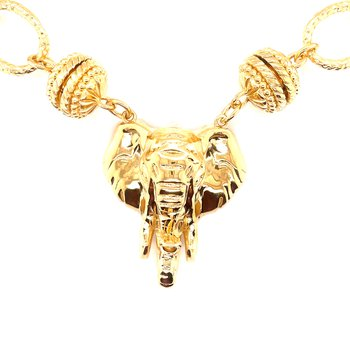 Forever Gold Alabama Fan Magnetic Clasp Necklace