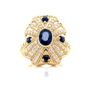 Inspirations from the Past SapphireRing