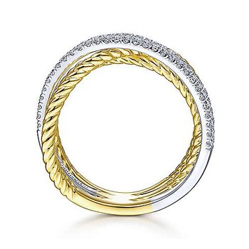 Gabriel Ladies Ring 51660M