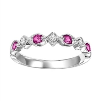 Ruby & Diamond Stackable
