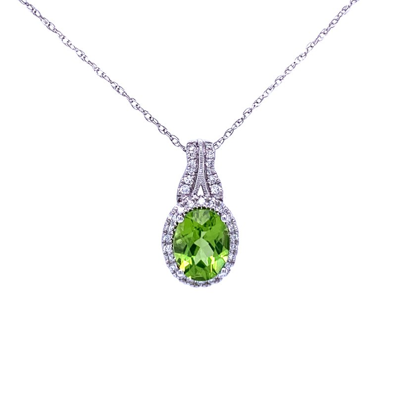 Bryan Beauties Lavish & Refreshing Peridot Pendant