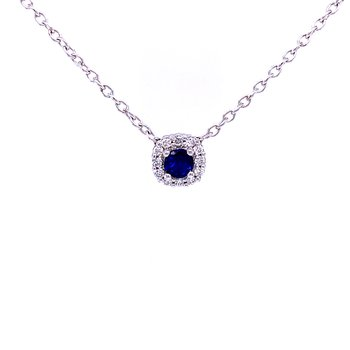 Sophisticated, Yet Simple Sapphire Beauty