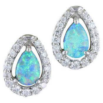 Magnificent Opal Earrings