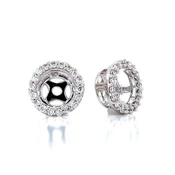 Diamond Earing Jackets-1/4ctw