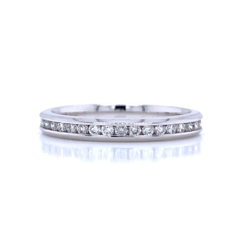 Bryan Beauties Channel Set Diamond Wedding Band-1/4ctw-14kw