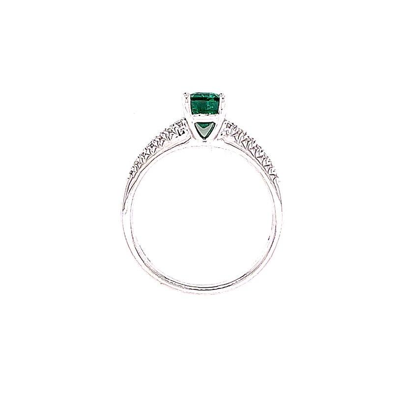 Bryan Beauties Regal Emerald and Diamond Ring