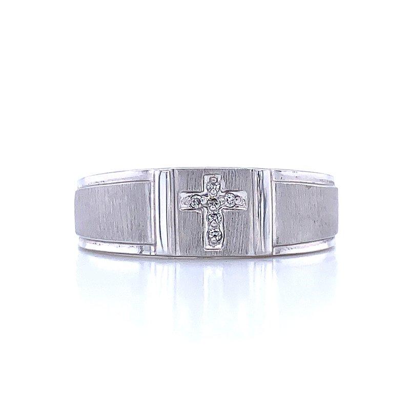 Bryan Beauties Signet Cross Ring
