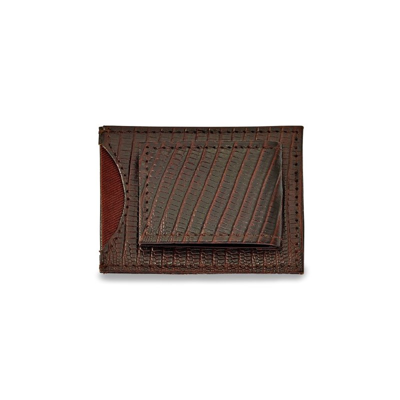 Bryan Beauties Black Leather Front Pocket Wallet