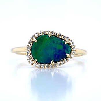 Gaze on my Beauty Opal Ring