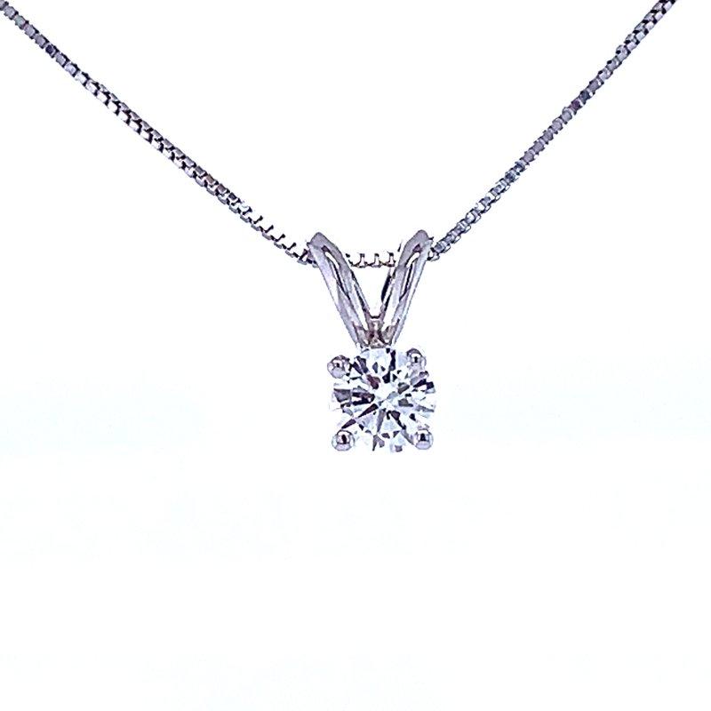 Bryan Beauties Solitaire Diamond Pendant 1/4ct
