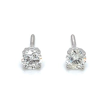 1/2ctw Diamond Studs