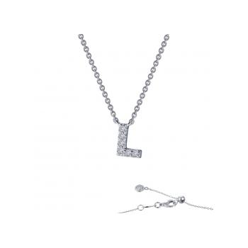 """L"" Initial Necklace"