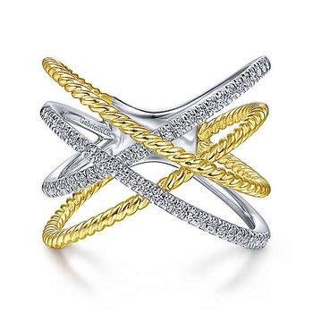Gabriel NY Fashion Ring 51630 TT