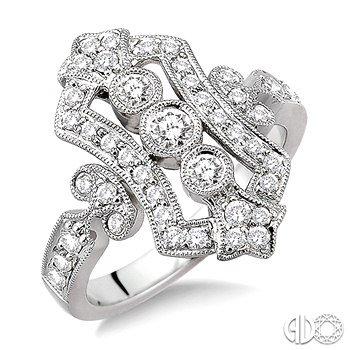 Antique Diamond Fashion Ring