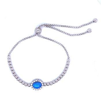 Bolo Bracelet in Blue