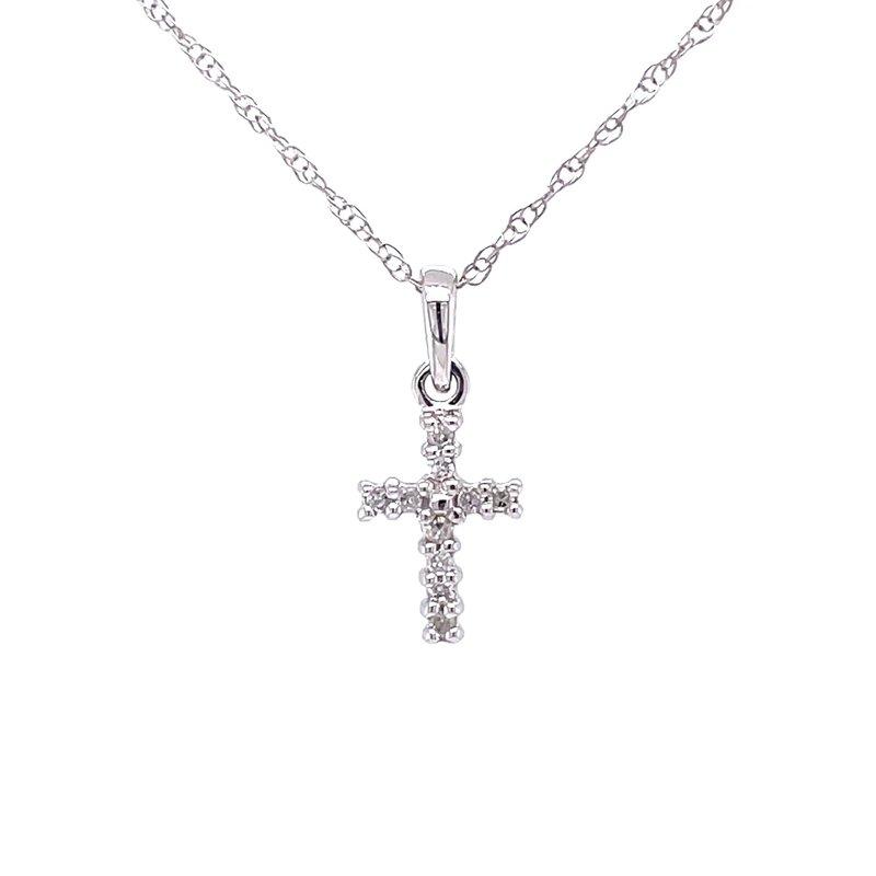 Bryan Beauties Oh, so Petite Diamond Cross Pendant