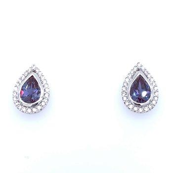 Stunning Alexandrite Earrings