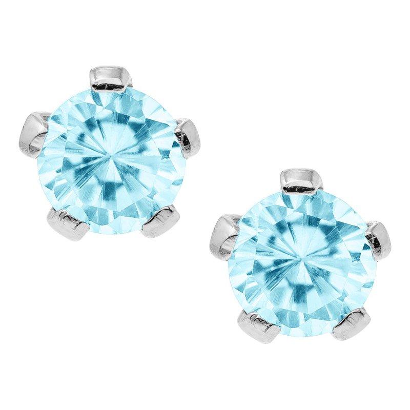 Marathon Jewelry March Birthstone Earrings