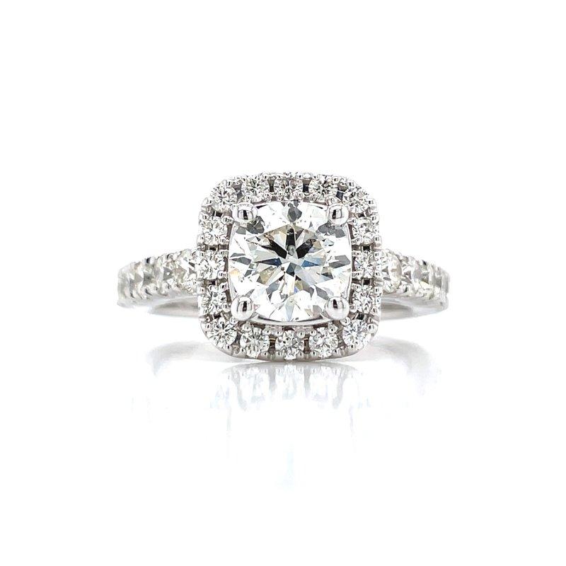 Bryan Beauties 2 1/2ctw Halo Engagement Ring