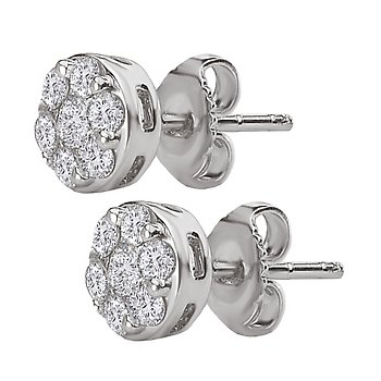 Radiance Diamond Earrings