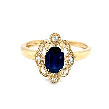Crowned with Sapphire