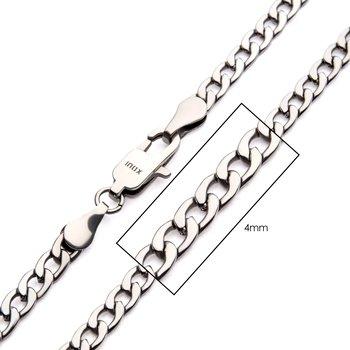 4mm Steel Classic Curb Chain