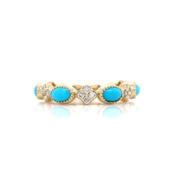 East-West TurquoiseStackable-14ky