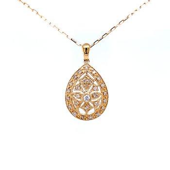 Breathof Freshness Diamond Pendant