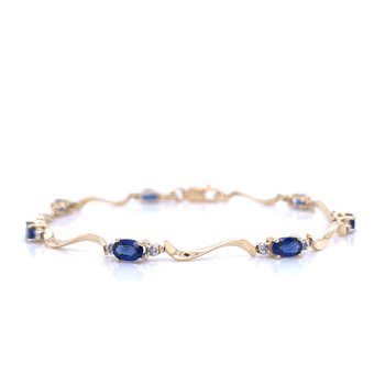 Waves of Blue Bracelet