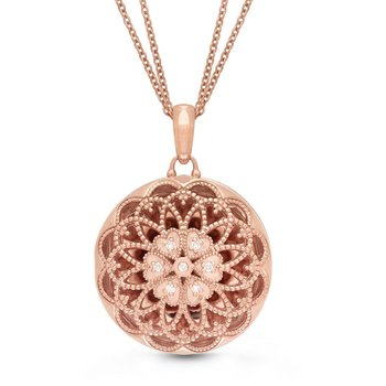 Elaine Locket Necklace