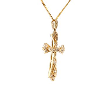 Sparkling with Diamonds Cross