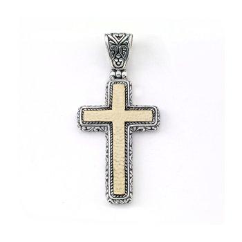 Reign Cross Pendant Charm