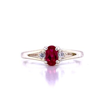 Children's July Birthstone Ring