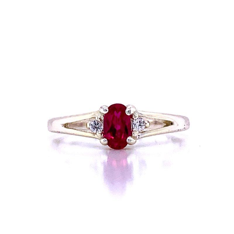 Bryan Beauties Children's July Birthstone Ring