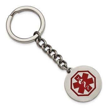 Medic Alert Key Ring