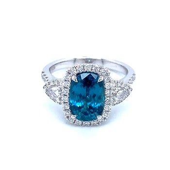 Absolutely Stunning Blue Zircon