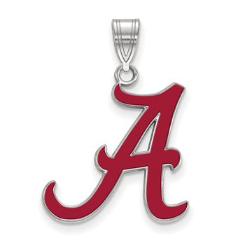 Alabama - A - in Enamel