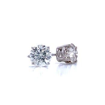 1 1/5ctw Diamond Studs