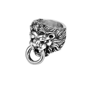 Lion's Head Ring