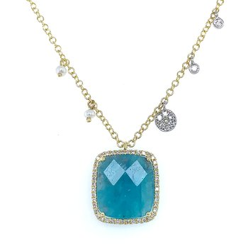Meira T Fluorite Necklace
