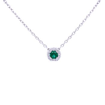 Sophisticated, Yet Simple Emerald Beauty