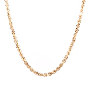 Diamond Cut Rope Chain-10ky