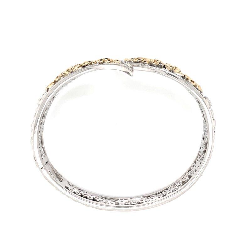 Piyaro Bypass Cuff Bracelet
