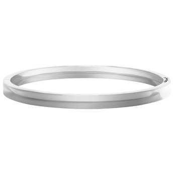 Sterling Silver Bangle - 6mm