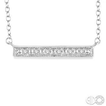 Diamond Trapeze Bar Pendant