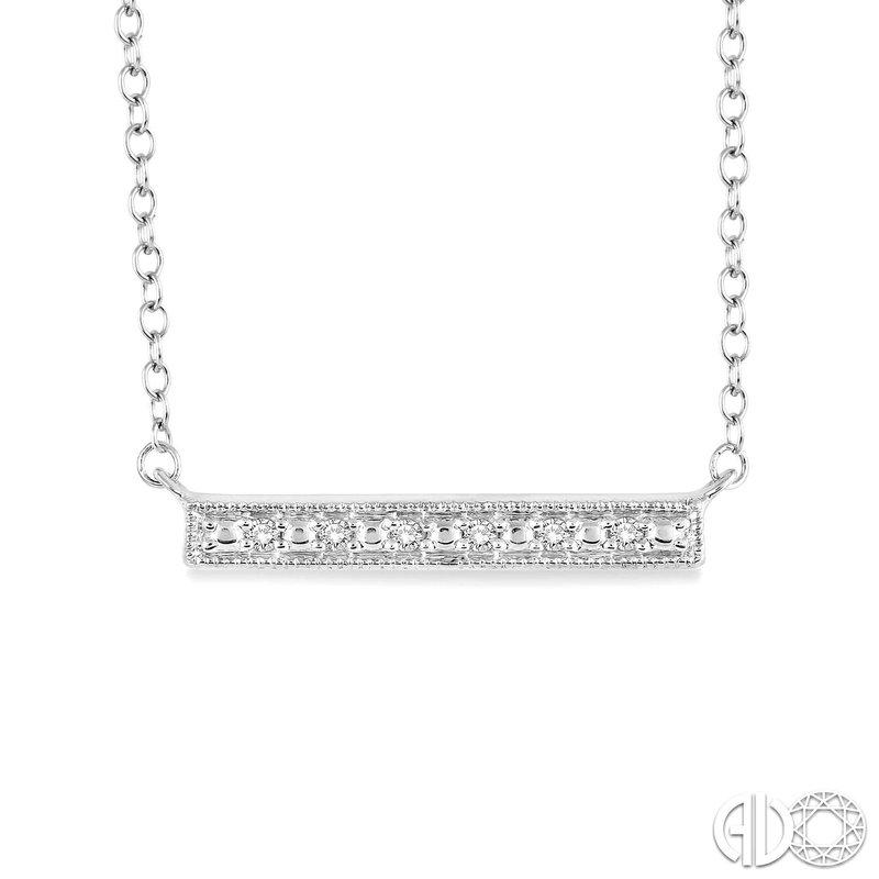 Bryan Beauties Diamond Trapeze Bar Pendant