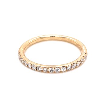 Prestigious Diamond Band-14ky-1/4ctw