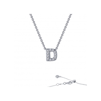 """D"" Initial Necklace"
