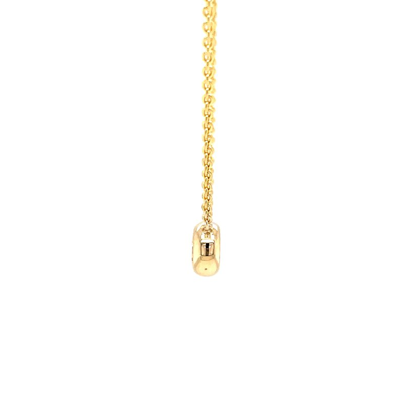 Bryan Beauties Bezel Style Diamond Pendant in yellowgold